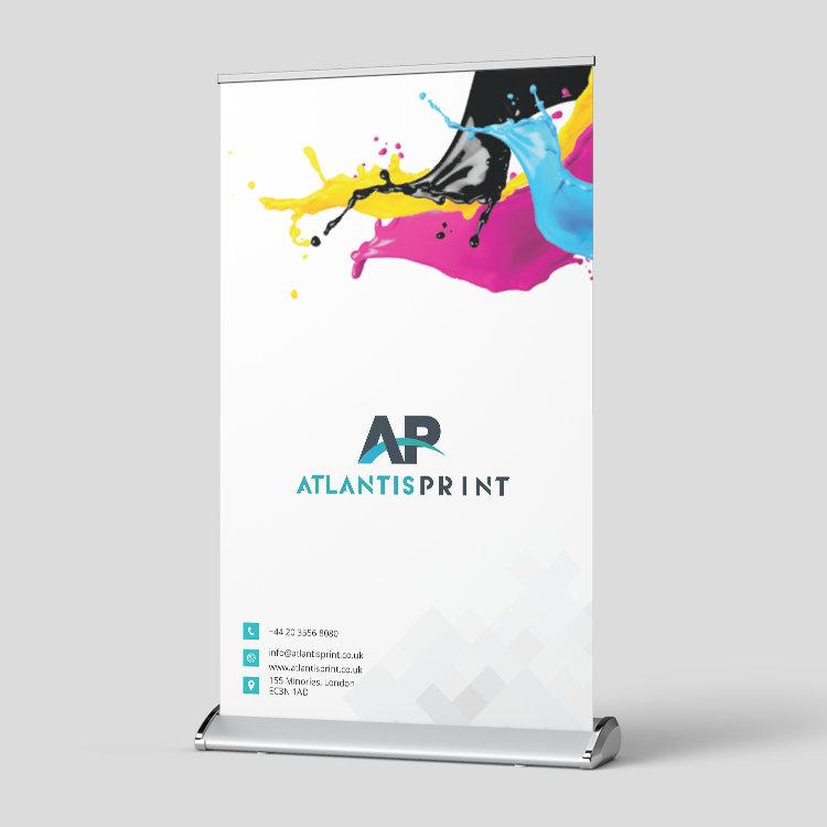 Desktop Roller Banner printing Online Uk